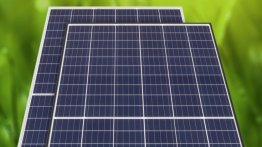Photo of a solar panel