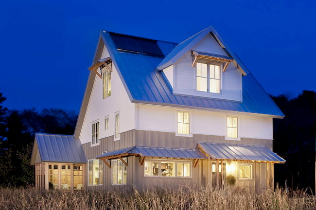 An example of a net zero home. Credit: Lord Contractors