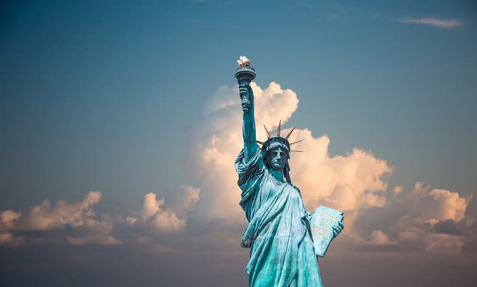 Photo of the Statue of Liberty, New York