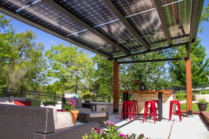 7 Creative Ideas For Solar Canopies And Carports
