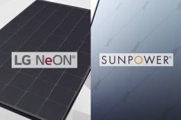 Side-by-side comparison of SunPower and LG Solar panels