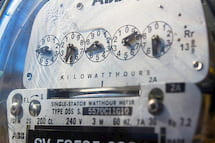 Example of an electric meter